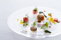 料理:レストラン『ディープブルー』イタリアンコース