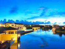 施設外観:沖縄で美しく響き合うリゾート、リゾナーレ小浜島。