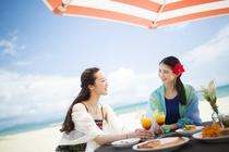 海でのお食事 ヴェンターレカフェ(夏期限定)