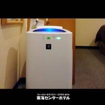 加湿空気清浄機(シングル全室に設置)