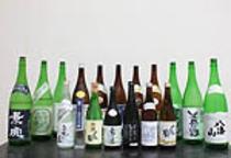 新潟の地酒、焼酎各種