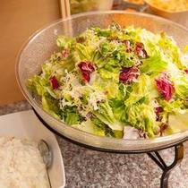 朝食サラダ スーパーホテル東京・大塚