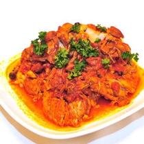 【朝食バイキングメニュー】チキンのトマト煮!トマトの酸味がGoodです!