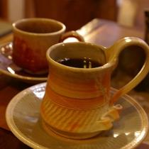 *地元の老舗・青池珈琲のブレンドコーヒー