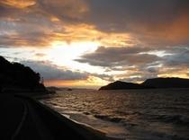 小豆島の夕暮れ風景