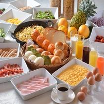 「洋食ブッフェ」朝食イメージ