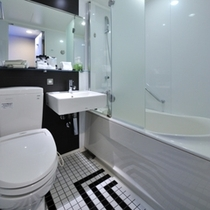 スタンダードシングルセミダブル【18平米】バスルーム一例