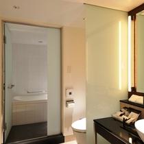 グランヴィアフロアデラックスツイン【37平米】バスルーム一例