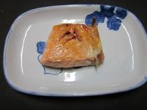 キングサーモンの焼き魚