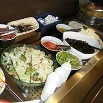【志高】夕食メニュー例 サラダ等コールドもの