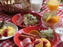 【モーニングメニュー】~朝食バイキング~