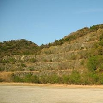 久山採石場跡地