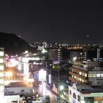 ホテル福岡市側夜景