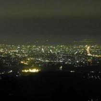 米の山展望台より福岡市夜景