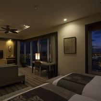 客室最上階グランスイート(52平米)一例