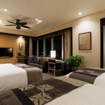 客室最上階13階グランスイート(52平米)客室一例
