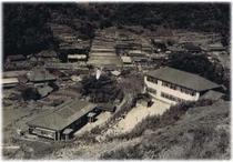 昭和20年頃の大沢里小学校