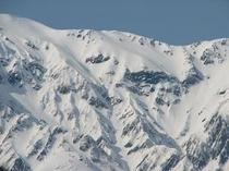 白馬岳雪形