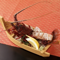 【別注料理】伊勢海老のお刺身 (画像はイメージです)