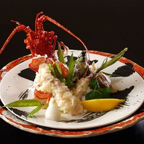 【別注料理】伊勢海老の天ぷら (画像はイメージです)