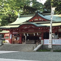 来宮神社(車で5分)