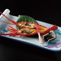 【別注料理】伊勢海老の鬼殻焼き (画像はイメージです)