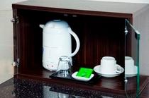 湯沸しポット&お茶セット