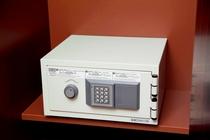 暗証番号式セキュリティーボックス。貴重品はこちらに保管を。