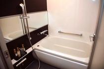 独立タイプは洗い場があるバスルームとなっております。