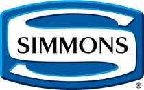 全室高級ベッドメーカーの「シモンズベッド」を採用。最高の眠りをご提供致します!