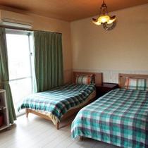*【部屋/クレタ】地中海風で白を基調としたツインルームです。