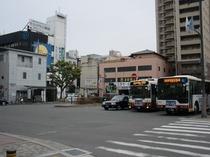 【堺駅南口 ロータリー】