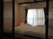 和室/夜は羽毛布団でぐっすりとお休みください