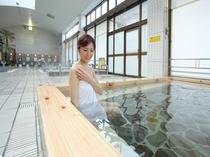 天然温泉大浴場②