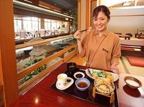 レストラン熊野川②