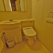 *【お部屋】全室ユニットバス・トイレ付き!