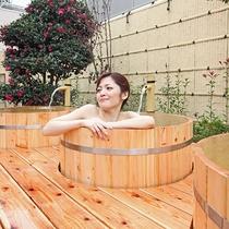 【温泉】ひのきのたる風呂で自分だけの温泉満喫♪