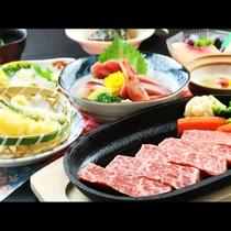 ◆【和牛ステーキコース一例】