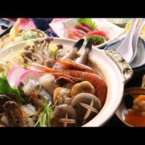 ◆【ご夕食一例・海鮮鍋】