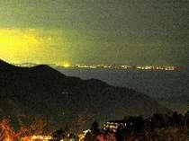 相模湾の夜景