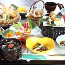 *【秋】松茸2品がついた秋の味覚会席