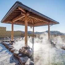 *ばんどうの湯/北橘温泉の露天もぜひ満喫ください。少し歩きますが、景色は絶景。