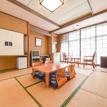 *和室8畳(一例)/当館基本のお部屋です。禁煙確約部屋もございます。