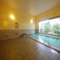 【大浴場】足を伸ばしてゆ〜ったりと。活性石人温泉ですっかり温泉旅行気分♪