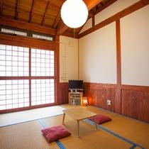 *和室6畳/落ち着きわるお部屋には無駄なものがなく広々とお使いいただけます。