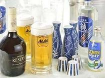 生ビール、日本酒、焼酎、ウイスキーが90分飲み放題♪プランもおすすめ