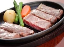 【夕食】和牛ステーキ