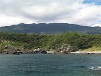 海側から施設方向
