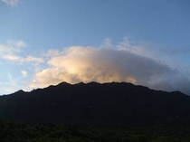 展望デッキ眺望(雲)