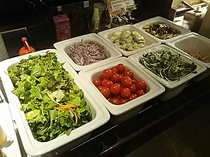生野菜サラダコーナー